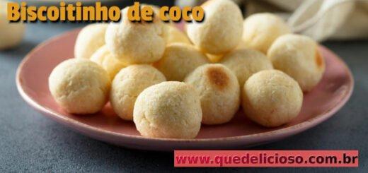 Como fazer biscoitinho de coco