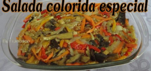 Salada colorida especial